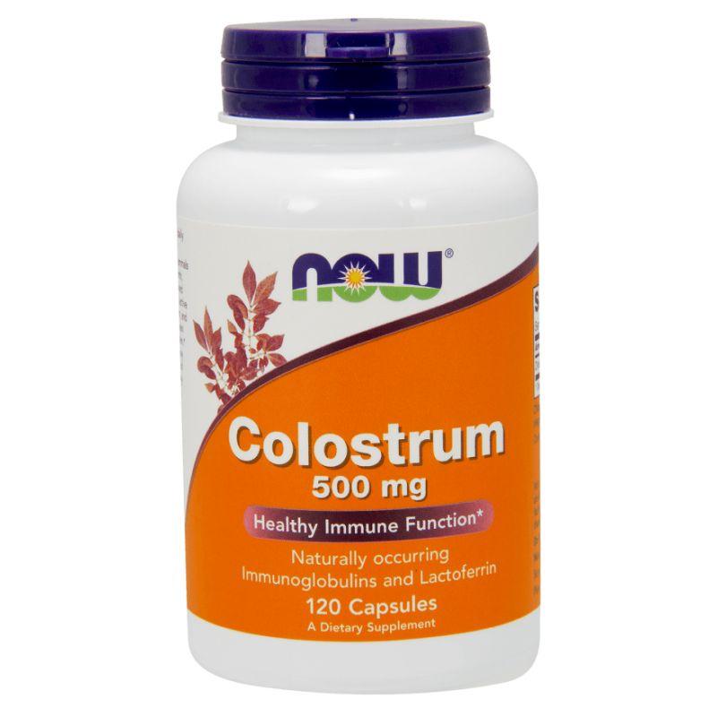 Now Colostrum 500mg 120 kapsúl