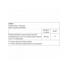 NOW Rhodiola rosea 500 mg 60 kapsúl