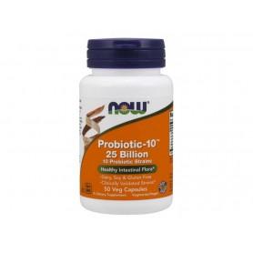 NOW Probiotic-10, probiotiká, 25 miliard 50 kapsúl