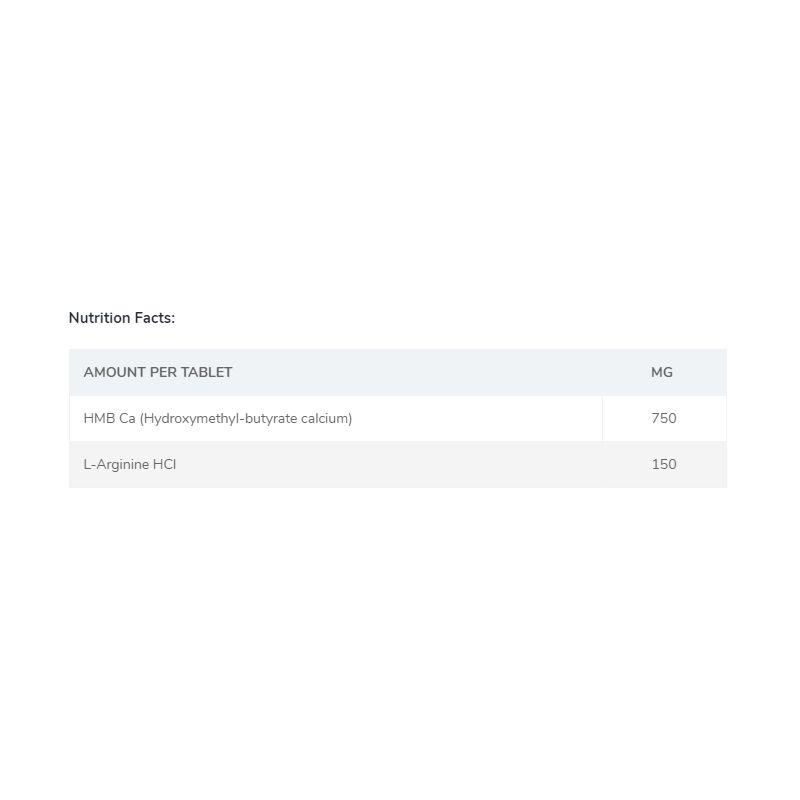 Chevron Nutrition HMB Plus Core 120 tabliet