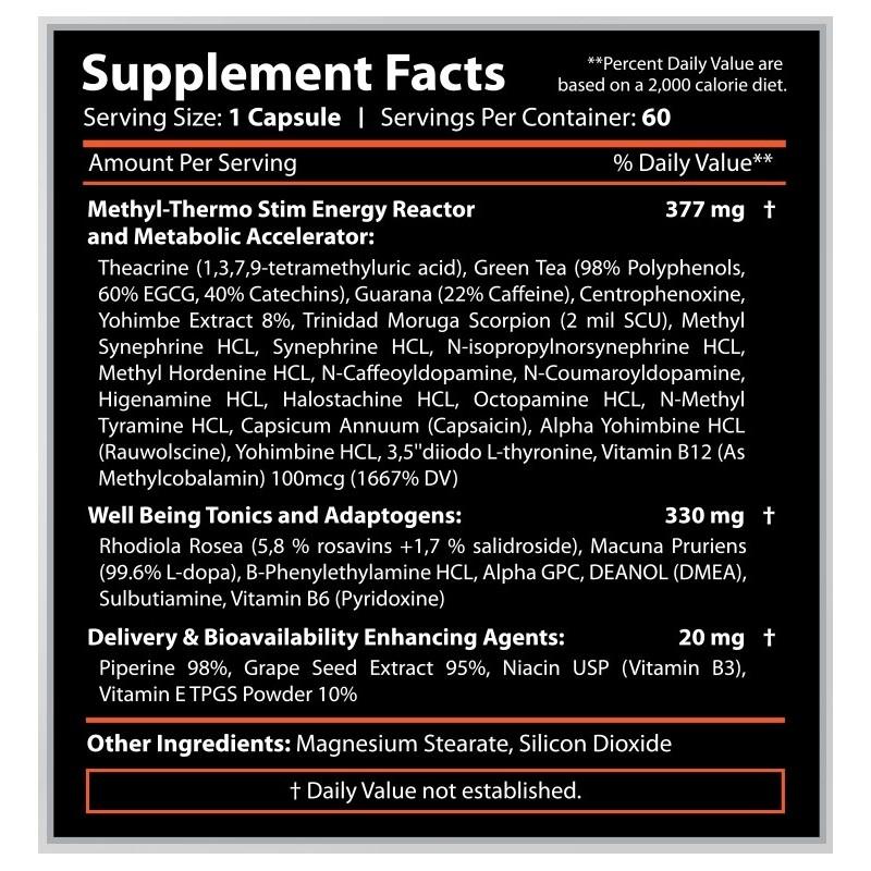 Revange Nutrition - THERMAL PRO V5 120 kapsúl