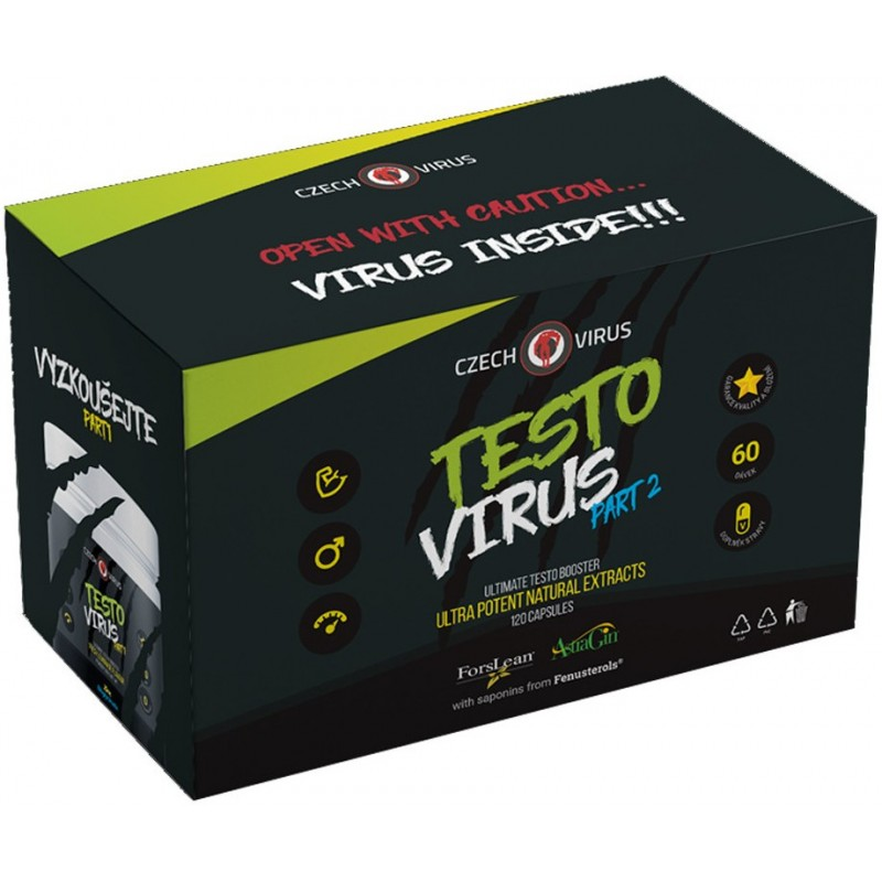 Czech Virus Testo Virus Part 2 120 tabliet