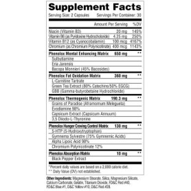 Metabolic Nutrition - PHENOLOX 60 caps
