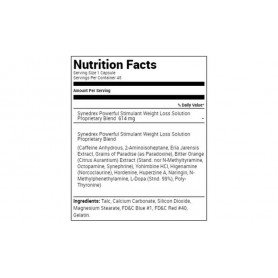 Metabolic Nutrition - Synedrex 45 KAPSÚL