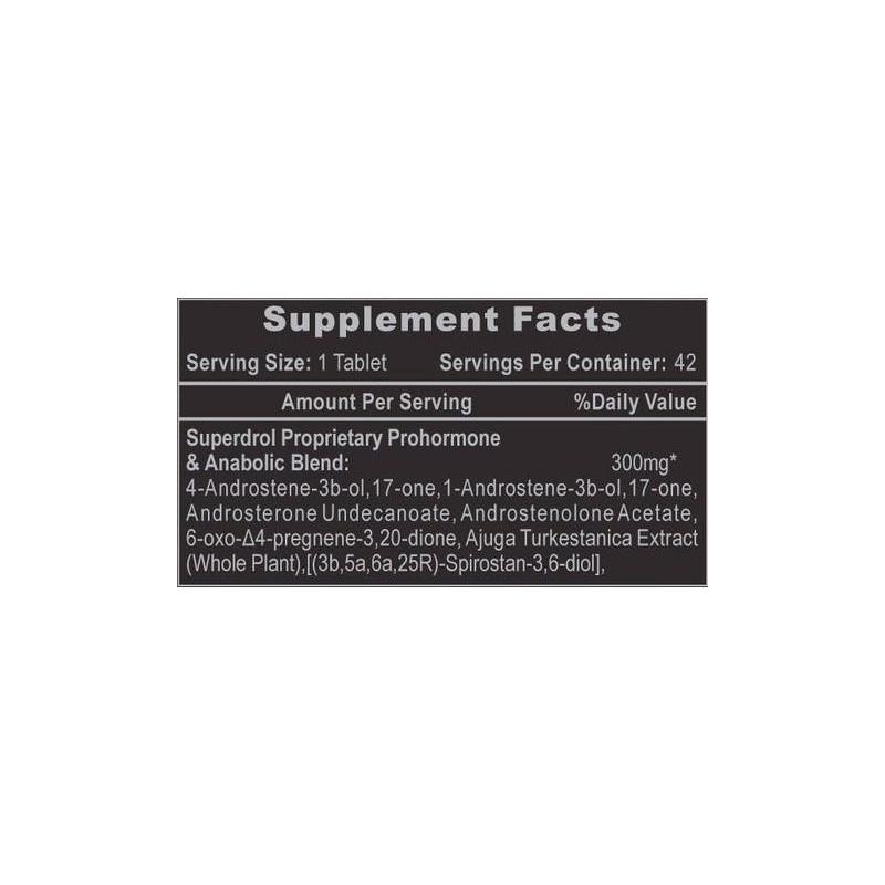 Hi-Tech Pharmaceuticals Superdrol 42 tabliet
