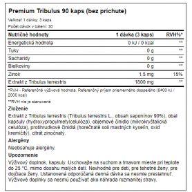 Weider - Premium Tribulus 90 kaps