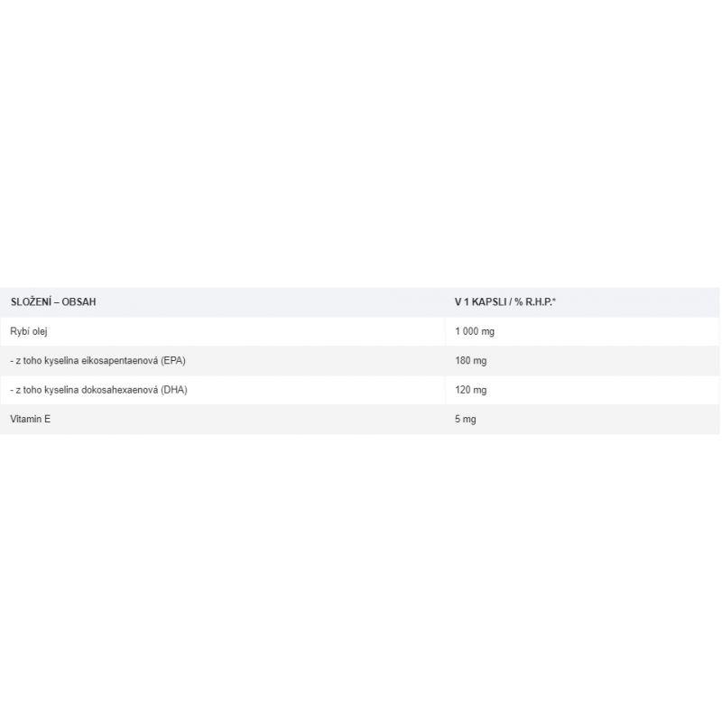 Chevron Nutrition - OMEGA 3 + VITAMIN E 1000 MG