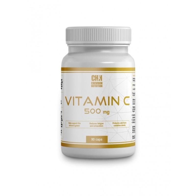 Chevron Nutrition - Vitamín C 500 mg