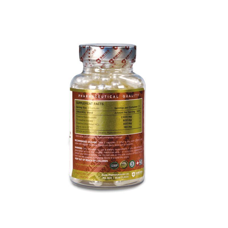 Swiss Pharmaceuticals - CREADROL - 120 kapsúl