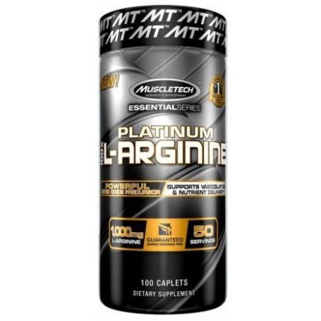 MUSCLETECH PLATINUM 100% L-ARGININE 100 TABLIET