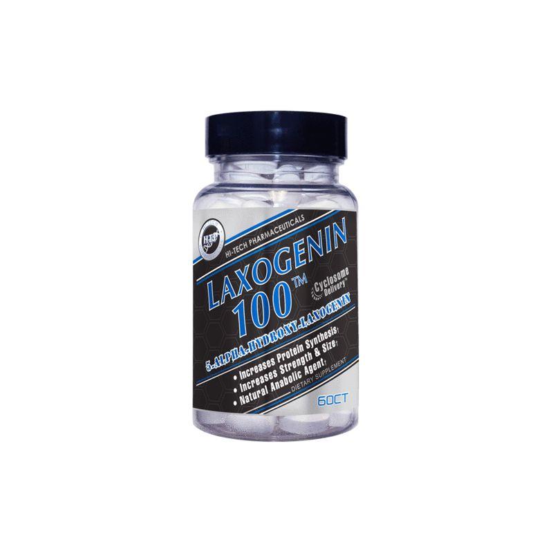 Hi-Tech Pharmaceuticals Laxogenin 100 60 TABLIET