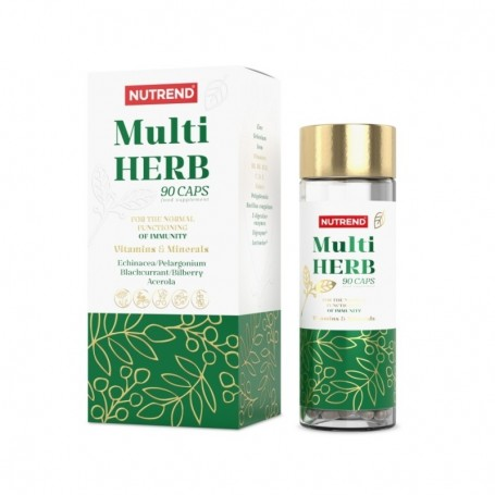 Nutrend Multi Herbs 90 kapsúl