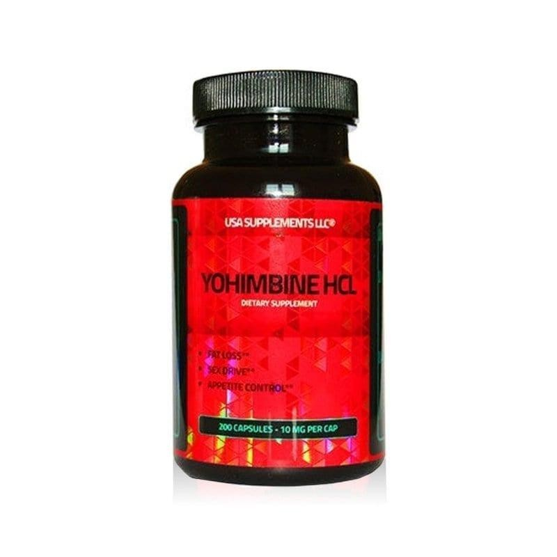 USA Supplements LLC Yohimbine HCL 10 mg 200 tabliet