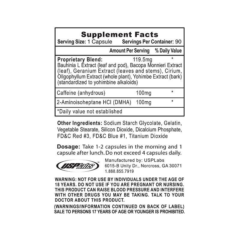Usp Labs - Oxyelite Pro 90 kapsúl (dmha)