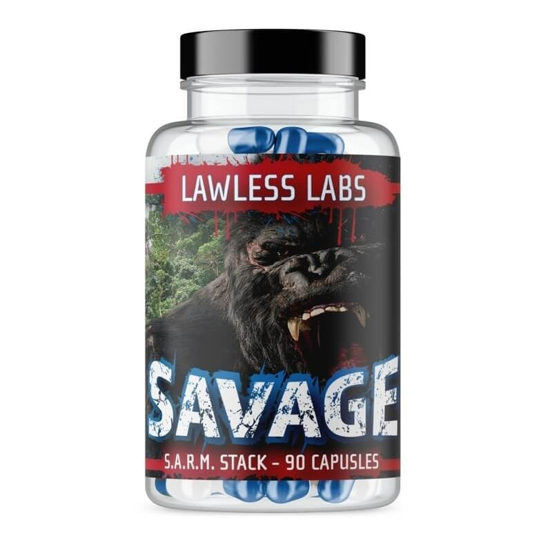 Lawless Labs Savage Sarm Stack 90 kapsúl