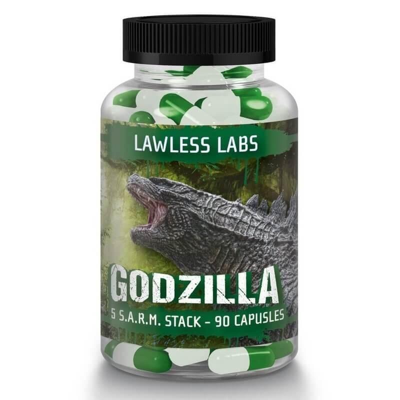Lawless Labs Godzilla Sarm Stack 90 kapsúl