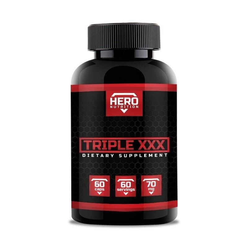 Hero Nutrition Triple XXX 60 kapsúl