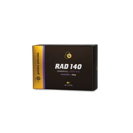 GOLDEN PHARMA - RAD 140 60 KAPSÚL