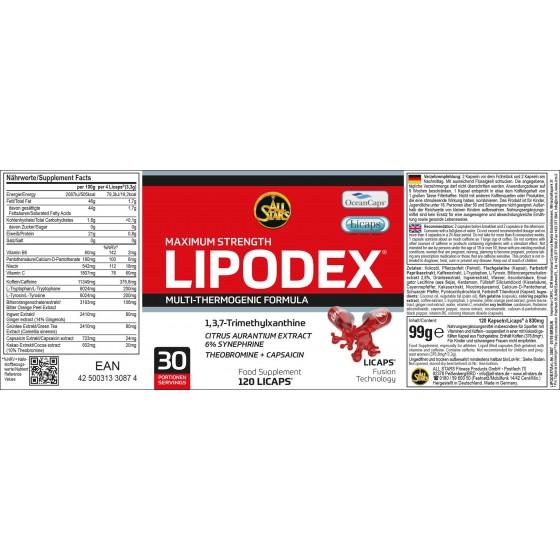 All Stars - LIPODEX 120 KAPSÚL