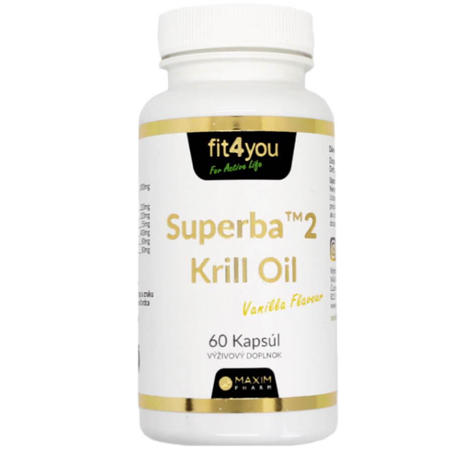 Fit4you - Superba2 Krill Oil 60 kapsúl