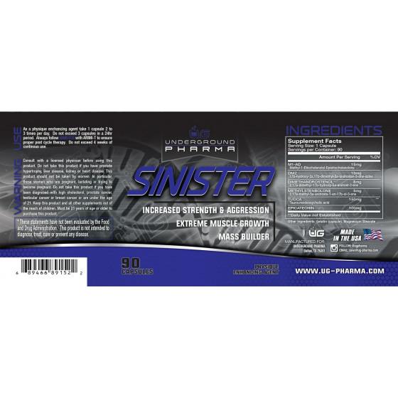 SINISTER Underground Pharma