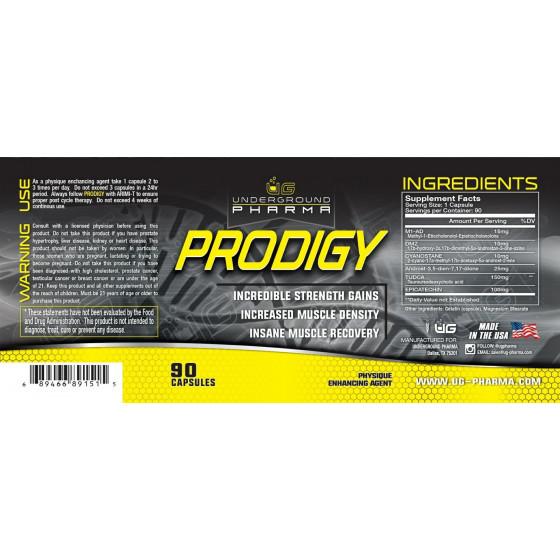 Underground Pharma - Prodigy 90 kapsúl