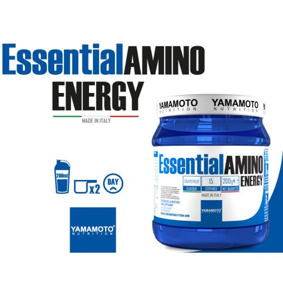 Yamamoto - Essential Amino Energy 200g