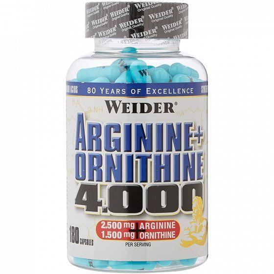 Weider Arginine + Ornithine 4000 180 tabliet
