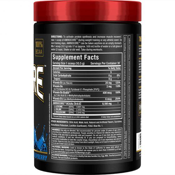 AllMax Nutrition - Aminocore BCAA 315g