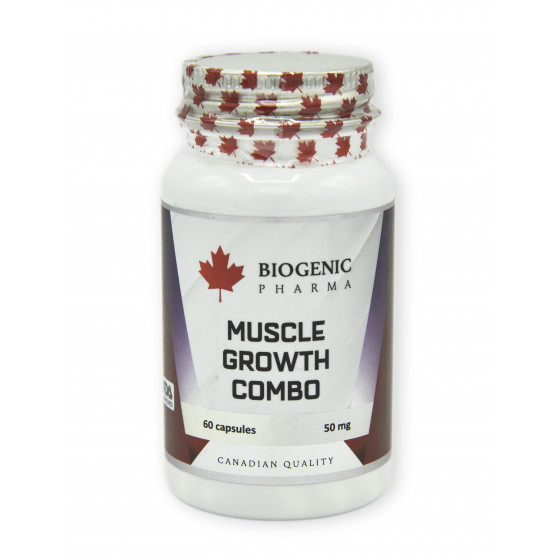 Biogenic pharma - Muscle Growth Combo 60 kapsúl