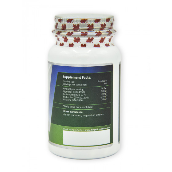 Biogenic pharma - Muscle gain extra 60 kapsúl