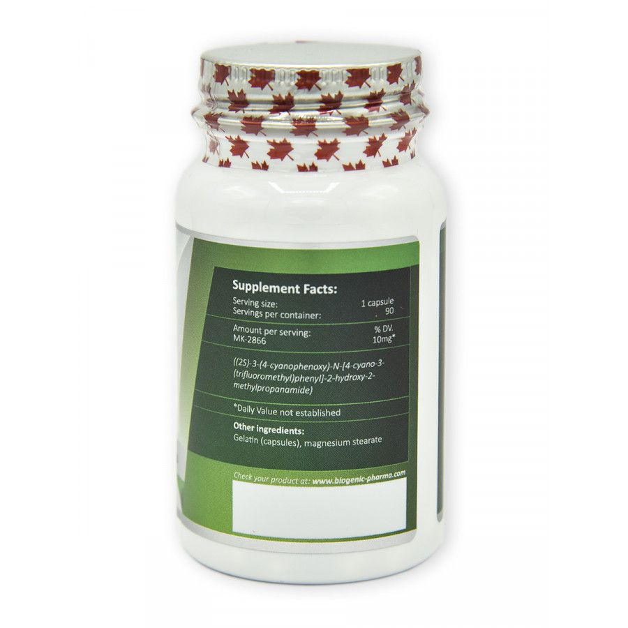 Biogenic pharma - Ostarine 90 kapsúl