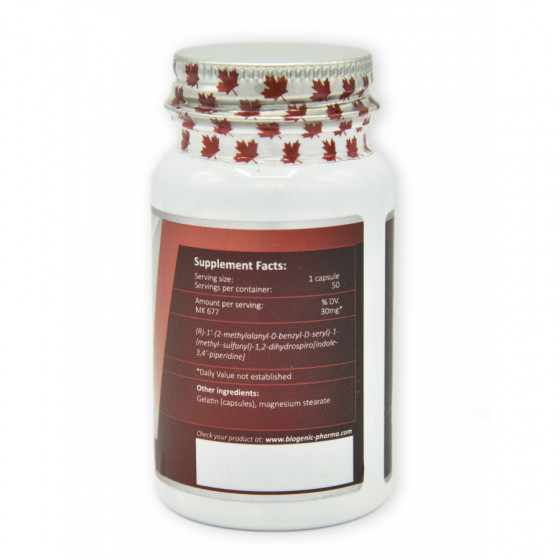 Biogenic pharma - 2x Ibutamoren 50 kapsúl