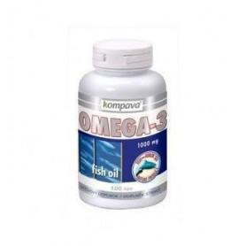 KOMPAVA Omega-3 - 1000 mg 100 kapsúl
