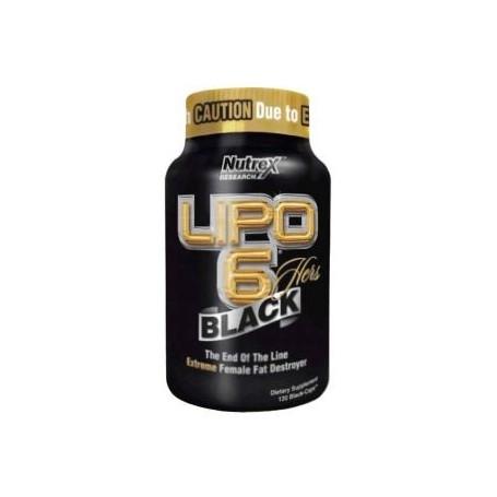 Nutrex - Lipo 6 Black Hers International 120 tab
