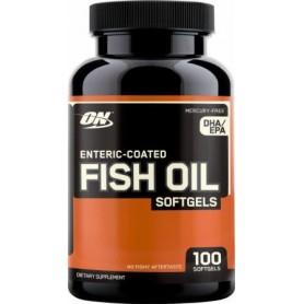 OPTIMUM NUTRITION ENTERIC COATED FISH OIL 100 KAPSÚL