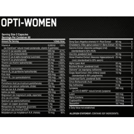 OPTIMUM NUTRITION OPTI-WOMEN 120 KAPS.
