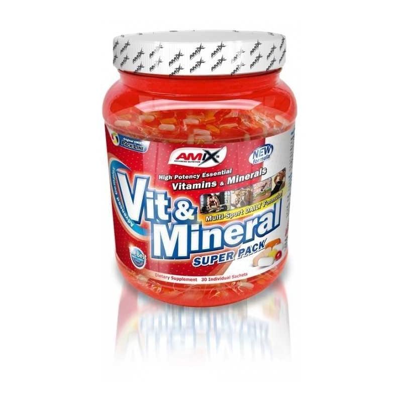 Amix Super Pack Vit & Minerals 30 sáčkov