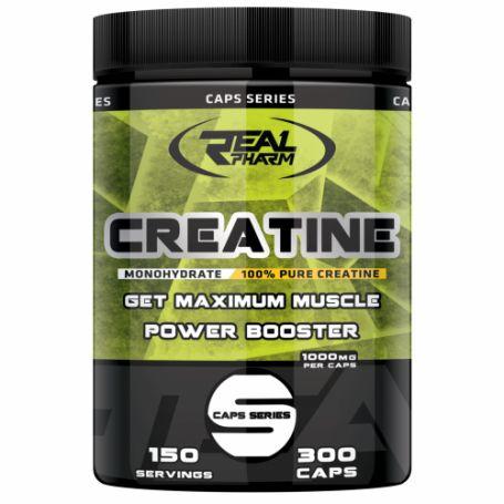 Real Pharm Creatine Monohydrate 300 kaps.